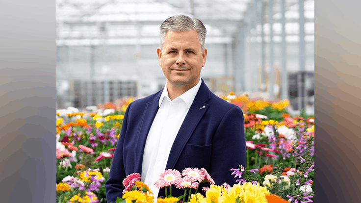 Bart Sneek joins HilverdaFlorist as commercial director