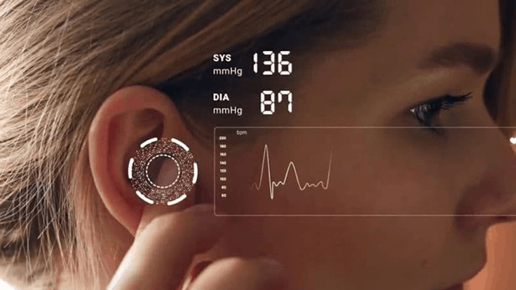 FDA approvals; BP sensor system integrates in hearables, wearables