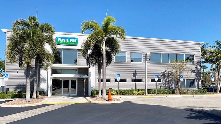 Waste Pro opens new facility in West Palm Beach