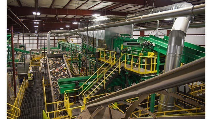 Van Dyk Recycling Solutions equips Nevada waste-to-fuels plant