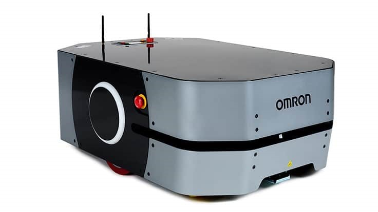 Omron Mobile Robot Moves 550-pound Payloads