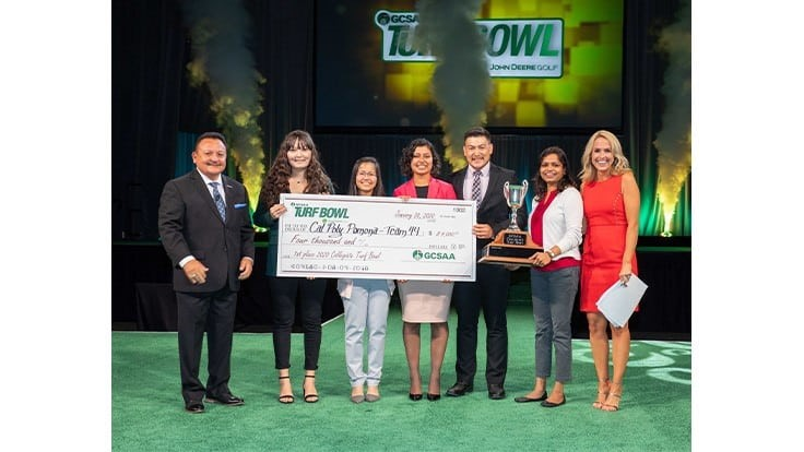 Cal Poly Pomona crowned 2020 GCSAA Collegiate Turf Bowl champion
