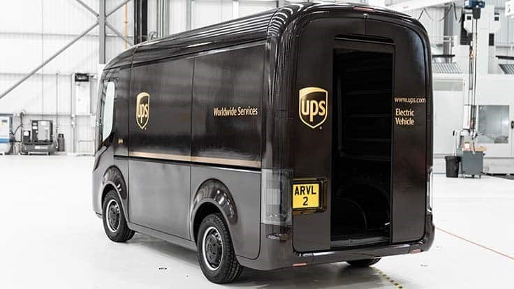 UPS to buy 10,000 electric delivery vans