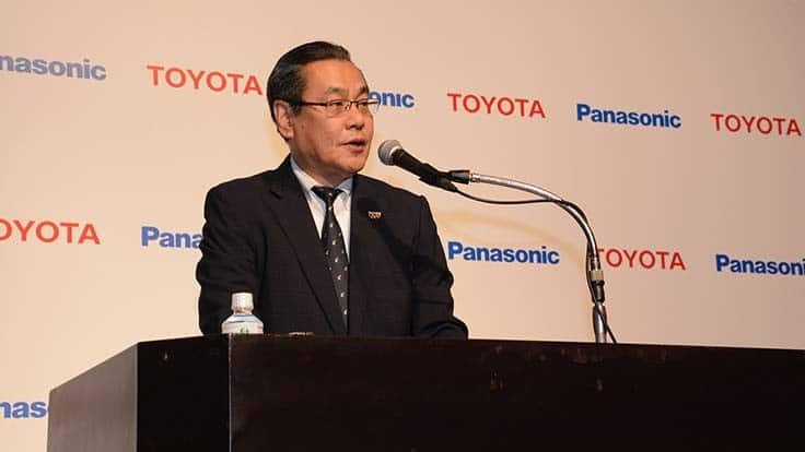 Toyota, Panasonic move forward with battery joint venture