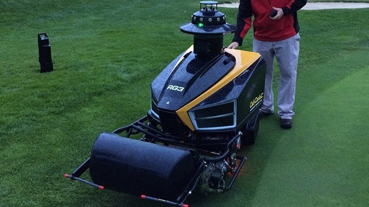 Cub Cadet halts autonomous golf mowing operation