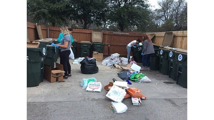 Figuring out multifamily recycling