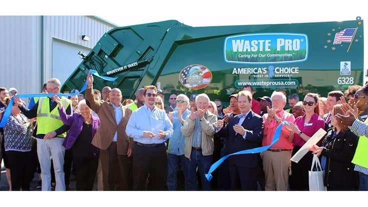 Waste Pro opens new Mississippi facility