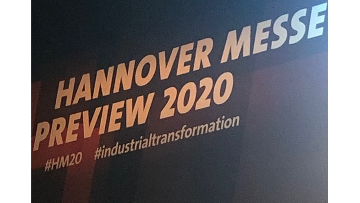 Hannover Messe 2020 preview: Industrial Transformation