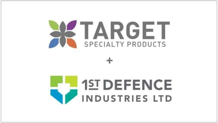1st Defence Industries Partners with Target Specialty Products