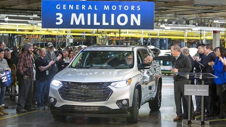 GM Lansing Delta Township plant builds 3 millionth vehicle