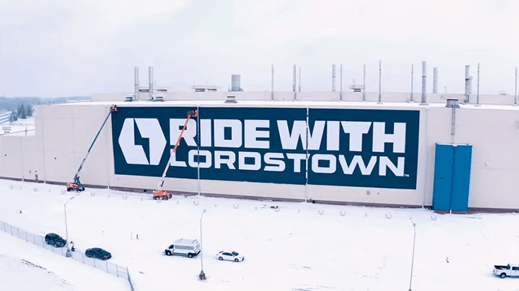 Electric pickup startup Lordstown Motors gets 250-truck order (Video)