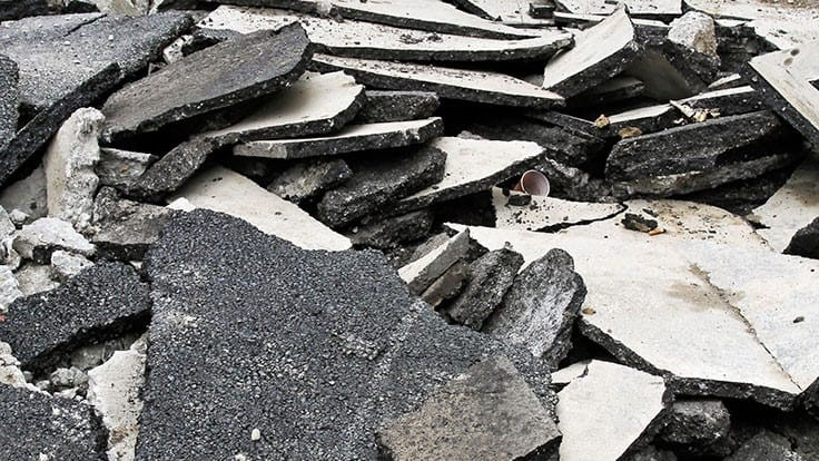 Use of recycled materials in new asphalt mixes on the rise
