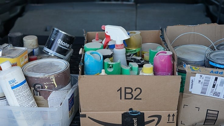 The changing face of household hazardous waste