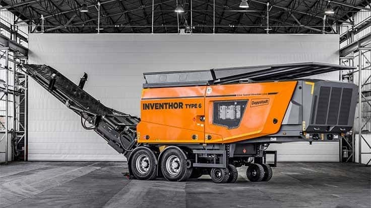 Doppstadt to unveil two shredders