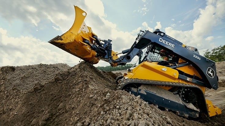John Deere introduces SmartGrade control technology into 333G Compact Track Loader