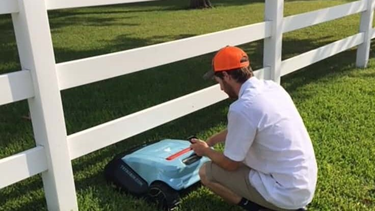 Robotic mowing company changes business model