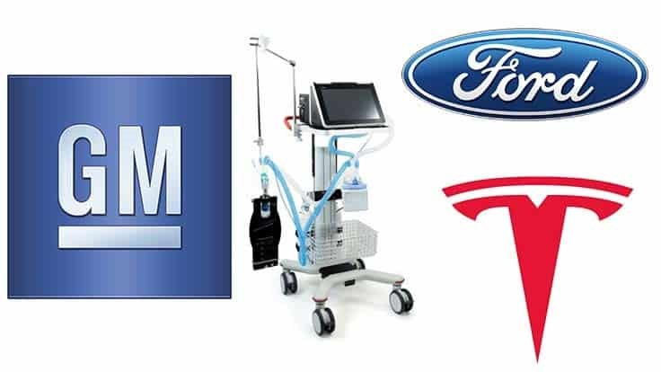 Ford, GM, Tesla considering ventilator production