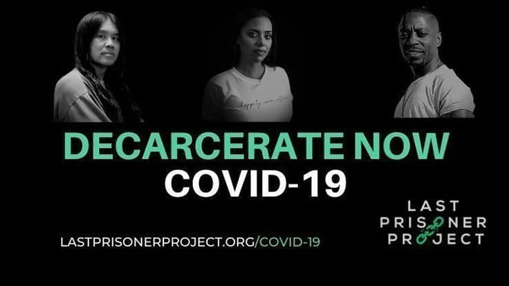 Last Prisoner Project Launches 'Decarcerate Now' Petition to Clear Jails of Inmates Convicted of Cannabis Offenses
