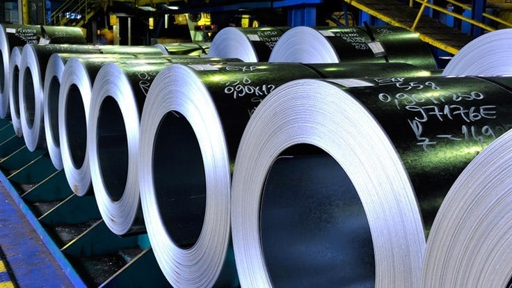 Global and Chinese steel output rose in February