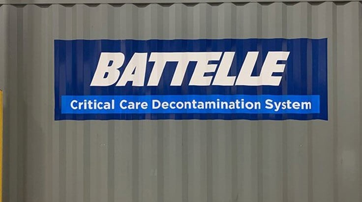 Battelle's PPE decontamination system gets FDA EUA