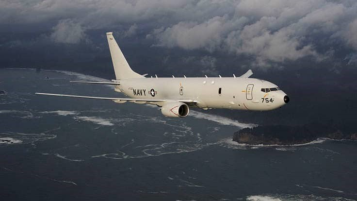 Boeing receives $1.5B P-8A Poseidon contract