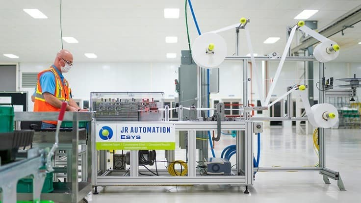 JR Automation, GM partner to deploy medical mask assembly line in six days