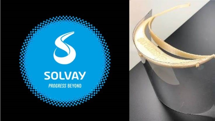 Solvay partners with Boeing for COVID-19 face shields