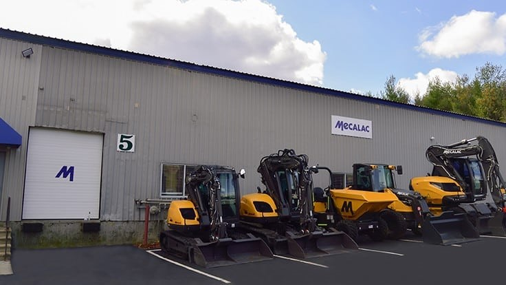 Mecalac opens new North American headquarters