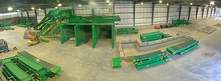 Green Machine builds its most advanced recycling system in Albany, New York