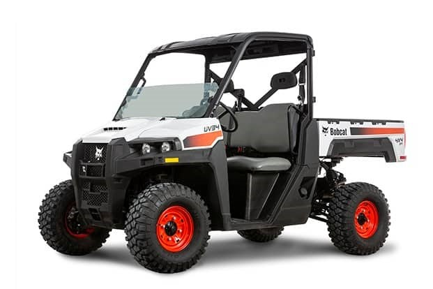Bobcat introduces new gas utility vehicles