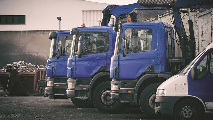 How changes to in-cab layouts can improve waste collection safety