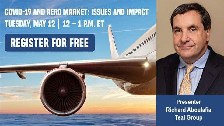 FREE WEBINAR: COVID-19 and Aerospace Markets