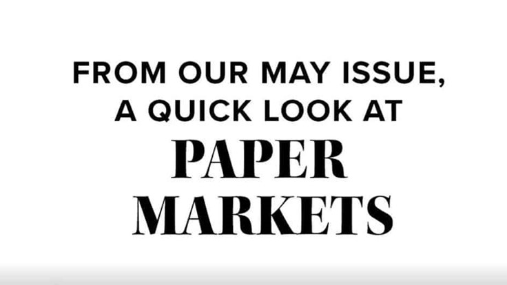 Paper Market Report: May 2020