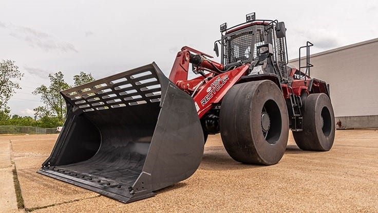 Taylor Machine Works releases new recycling series wheel loader