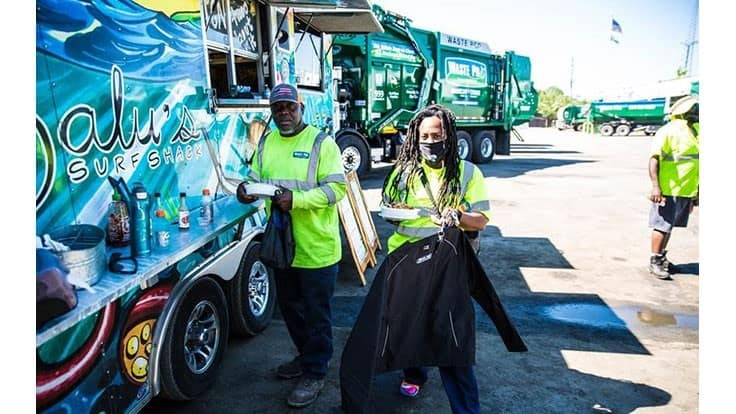 Waste Pro partners with NFL team on appreciation effort