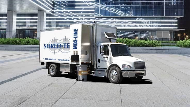 Shred-Tech upgrades mobile shredding truck line