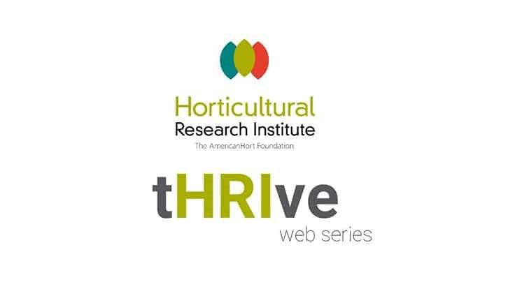 HRI launches new tHRIVe web series for growers