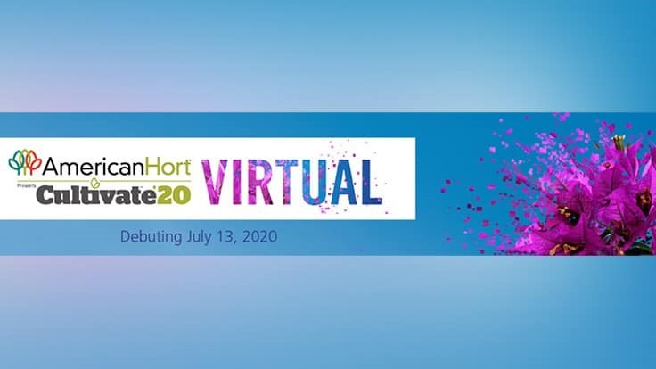 AmericanHort releases schedule for Cultivate'20 Virtual
