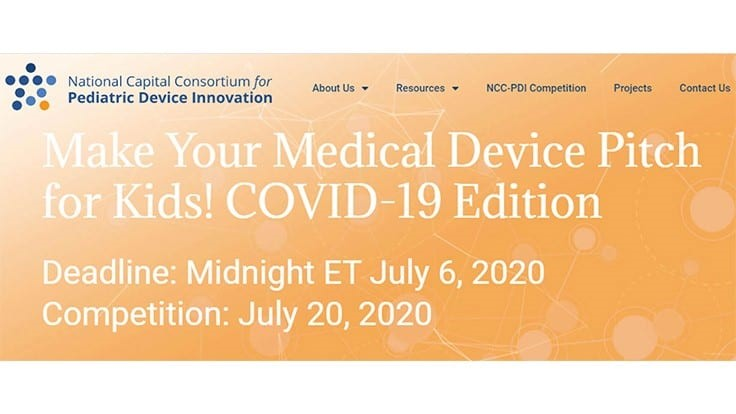 Children's National, NCC-PDI hold medical device competition for COVID-19 innovations