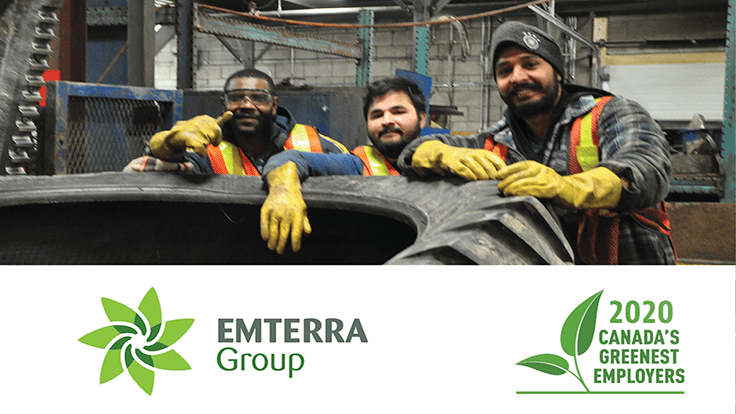 Emterra Group is among Canada's Greenest Employers