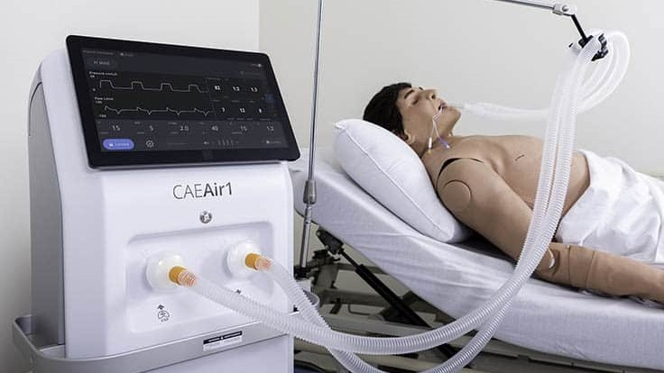 CAE Air1 ventilator receives Health Canada certification