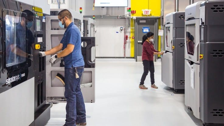 GM additive manufacturing: prototyping to COVID-19 response