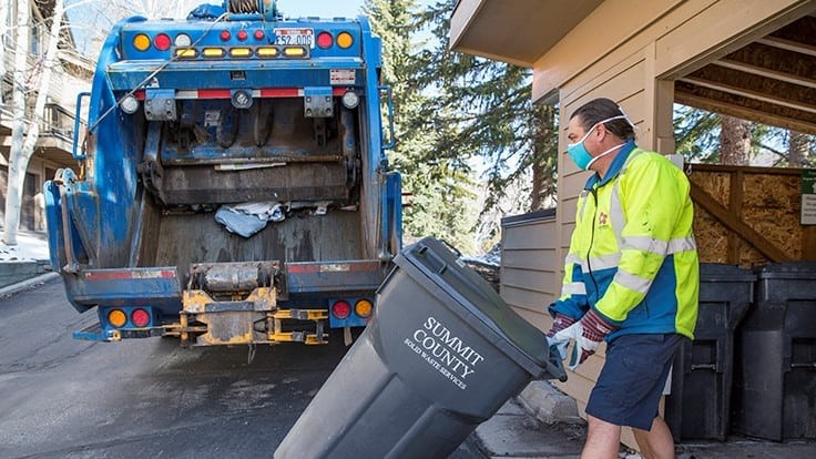 How waste management companies have worked to keep collection personnel safe during COVID-19
