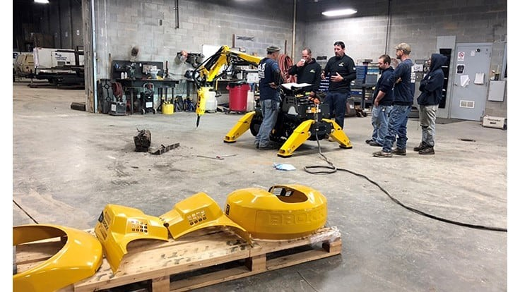 Brokk offers training program