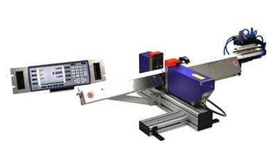 Laser system measures ground parts diameters