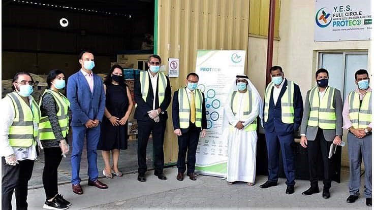 Proteco opens secure destruction and recycling facility in Dubai
