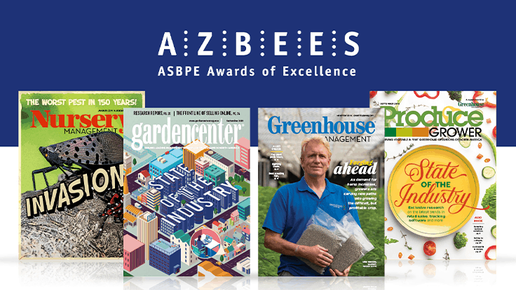 GIE Media recognized at the 2020 Azbee Awards of Excellence