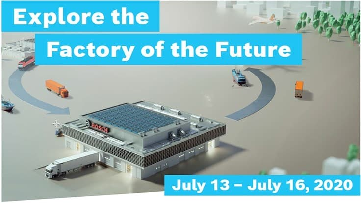 Free virtual event - Explore the Factory of the Future