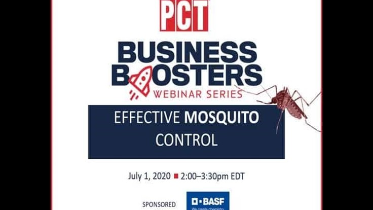 Inspection and Control Tips for Effective Mosquito Control Virtual Conference
