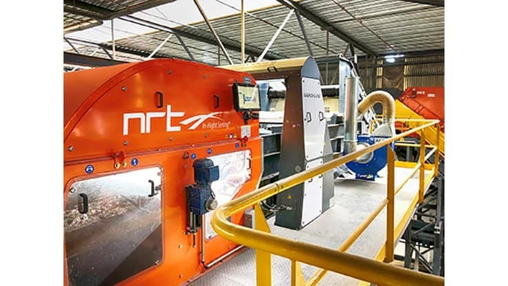 NRT launches color-based optical sorter with Al